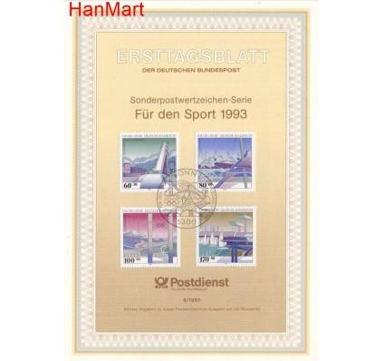 Znaczek Niemcy 1993 Pierwszy dzień wydania