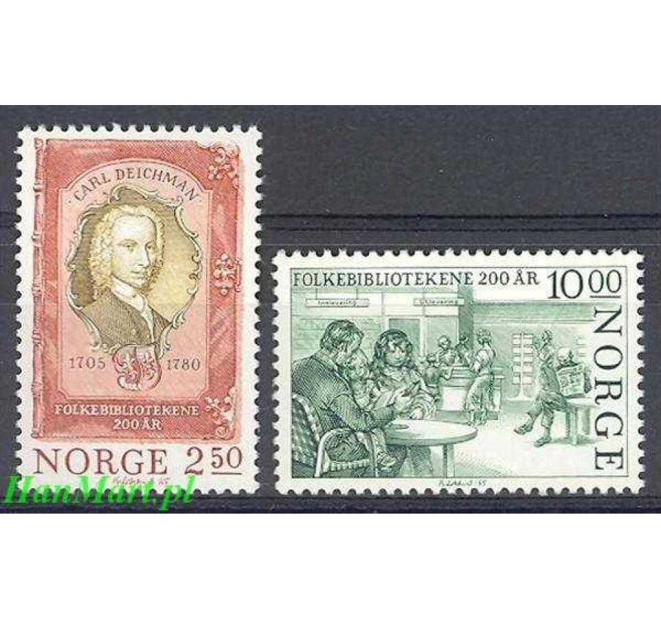 Norwegia 1985 Mi 934-435 Czyste **