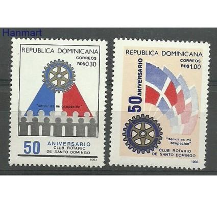 Znaczek Dominikana 1993 Mi 1672-1673 Czyste **