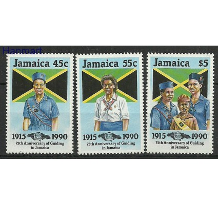 Znaczek Jamajka 1990 Mi 733-735 Czyste **