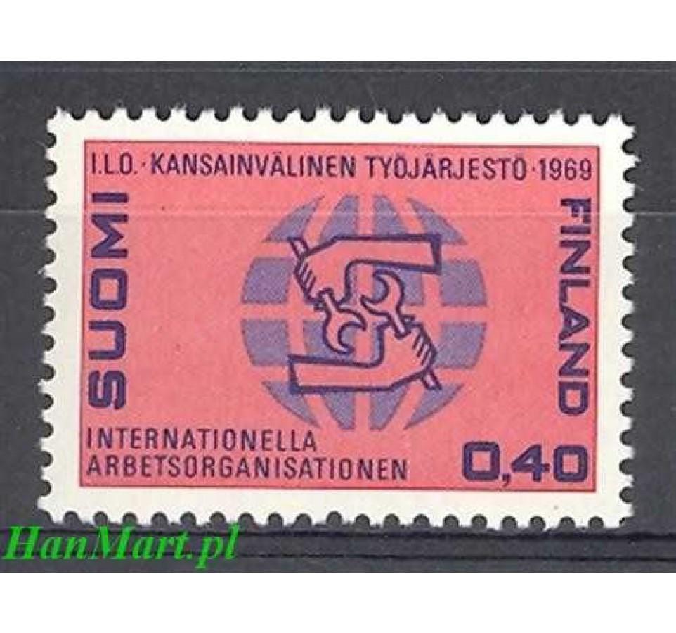 Finlandia 1969 Mi 660 Czyste **