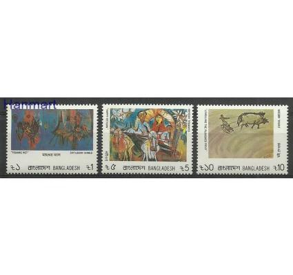 Znaczek Bangladesz 1986 Mi 244-246 Czyste **