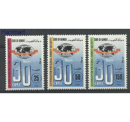 Znaczek Kuwejt 1991 Mi 1287-1289 Czyste **