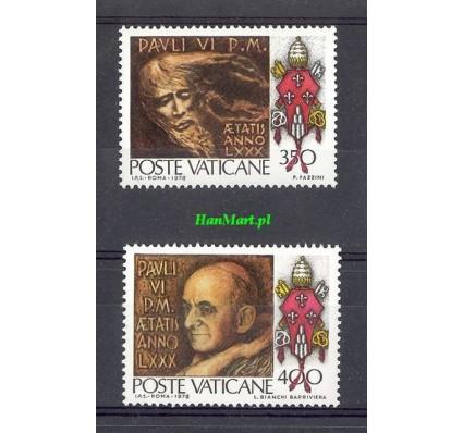 Watykan 1978 Mi 718-719 Czyste **