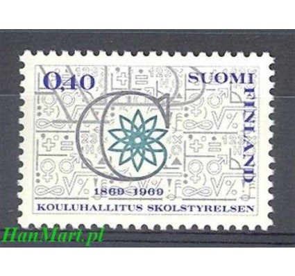 Finlandia 1969 Mi 664 Czyste **