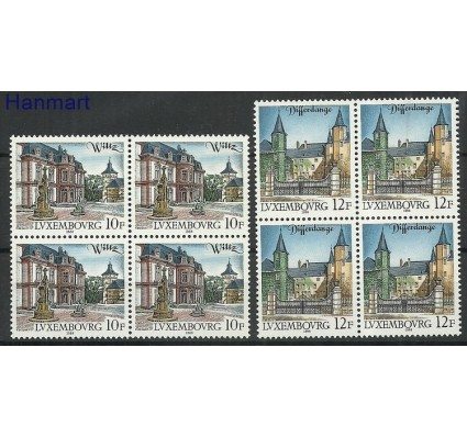 Luksemburg 1988 Mi 1201-1202 Czyste **