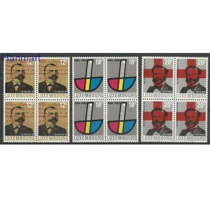 Znaczek Luksemburg 1989 Mi 1214-1216 Czyste **