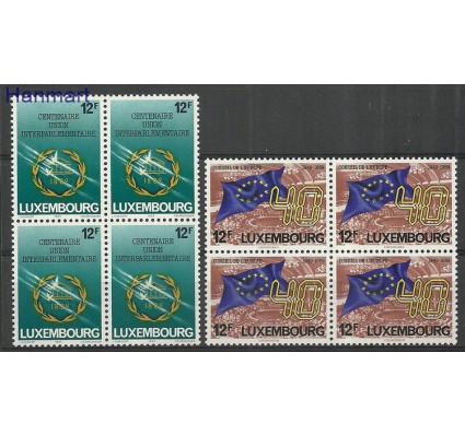 Znaczek Luksemburg 1989 Mi 1221-1222 Czyste **