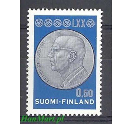 Finlandia 1970 Mi 680 Czyste **