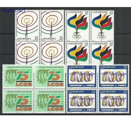 Znaczek Luksemburg 1996 Mi 1392-1395 Czyste **