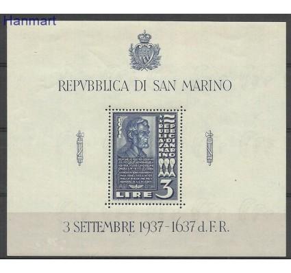 Znaczek San Marino 1937 Mi bl 2 Czyste **