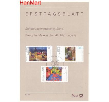 Znaczek Niemcy 1995 Pierwszy dzień wydania