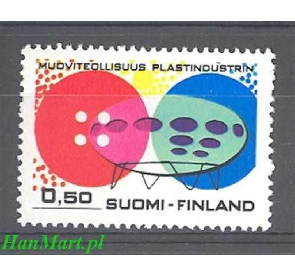 Finlandia 1971 Mi 697 Czyste **