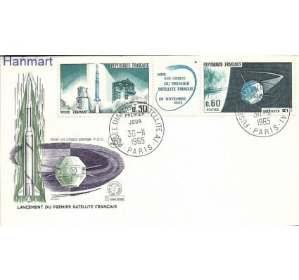 Znaczek Francja 1965 Mi 1530-1531 FDC