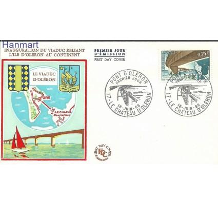 Znaczek Francja 1966 Mi 1551b FDC
