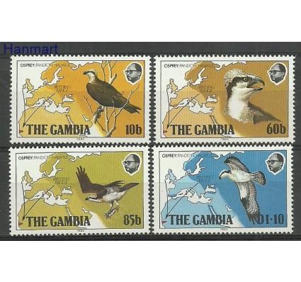 Znaczek Gambia 1983 Mi 479-482 Czyste **