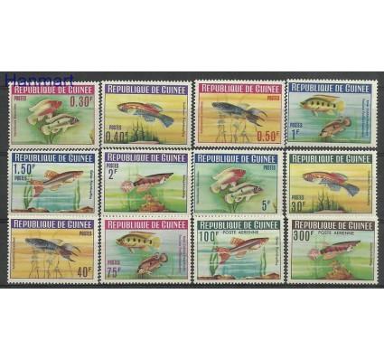 Znaczek Gwinea 1964 Mi 214-225 Z podlepką *