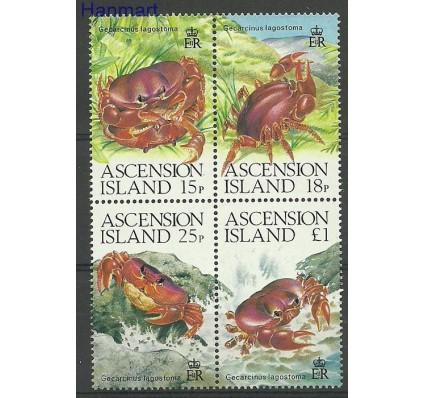 Znaczek Wyspa Wniebowstąpienia 1989 Mi vie488-491 Czyste **