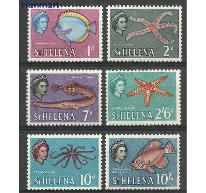 Znaczek Wyspa św. Heleny 1961 Mi 146+148+152+153+156+158 Z podlepką *