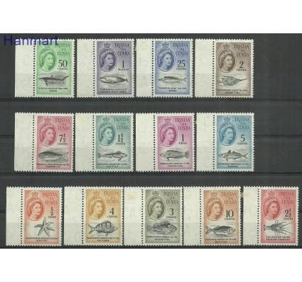 Znaczek Tristan da Cunha 1961 Mi mar42-54 Z podlepką *