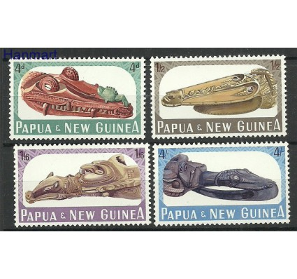 Znaczek Papua Nowa Gwinea 1965 Mi 73-76 Czyste **
