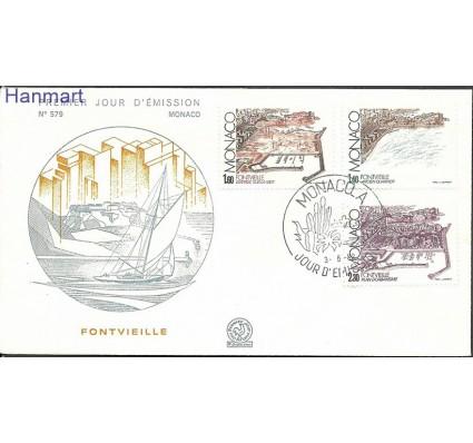 Znaczek Monako 1982 Mi 1528-1530 FDC