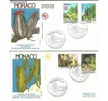 Znaczek Monako 1983 Mi 1571-1575 FDC