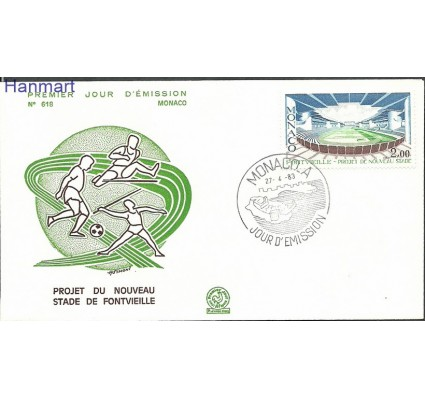 Znaczek Monako 1983 Mi 1582 FDC