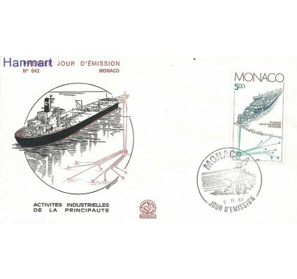Znaczek Monako 1983 Mi 1607 FDC