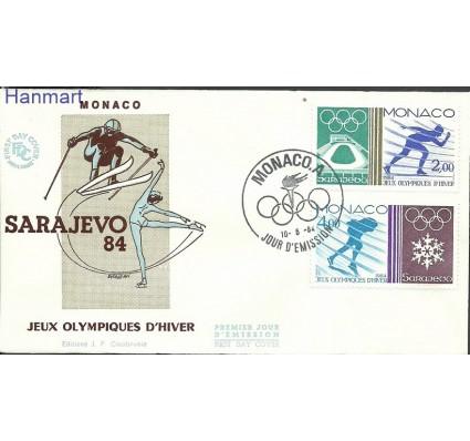 Znaczek Monako 1984 Mi 1616-1617 FDC