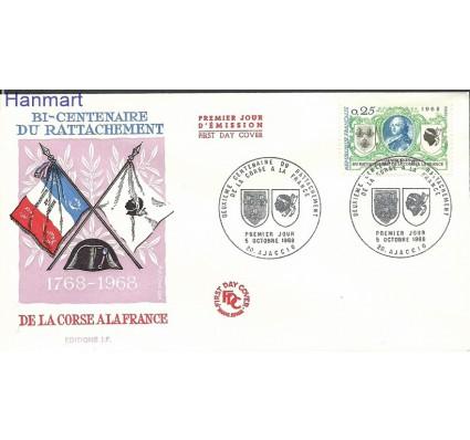 Znaczek Francja 1968 Mi 1637 FDC
