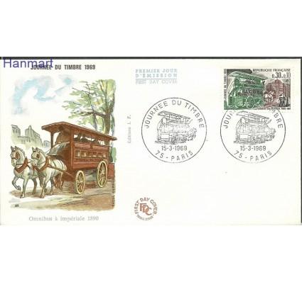 Znaczek Francja 1969 Mi 1659b FDC