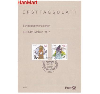 Znaczek Niemcy 1996 Pierwszy dzień wydania