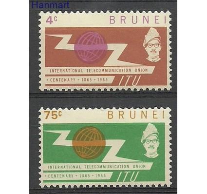 Znaczek Brunei 1965 Mi 108-109 Czyste **