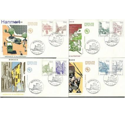 Znaczek Monako 1984 Mi 1634-1641 FDC