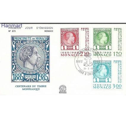Znaczek Monako 1985 Mi 1677-1679 FDC