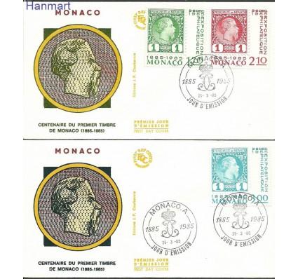 Znaczek Monako 1985 Mi 1677-1679b FDC