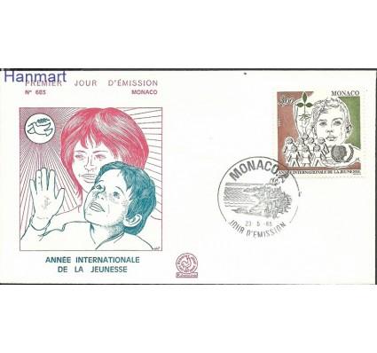Znaczek Monako 1985 Mi 1699 FDC