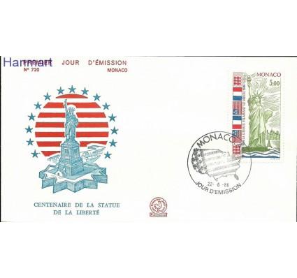 Znaczek Monako 1986 Mi 1760 FDC