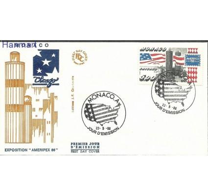 Znaczek Monako 1986 Mi 1762 FDC