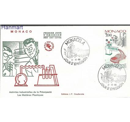 Znaczek Monako 1986 Mi 1768b FDC