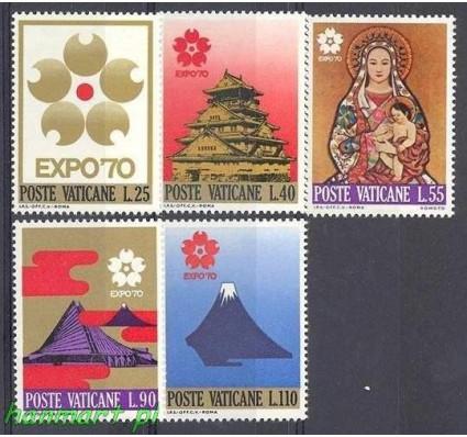 Znaczek Watykan 1970 Mi 556-560 Czyste **