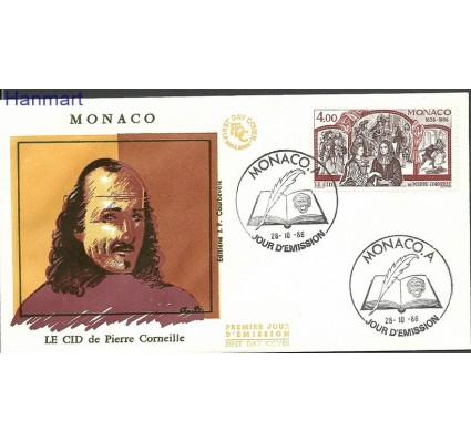Znaczek Monako 1986 Mi 1773b FDC
