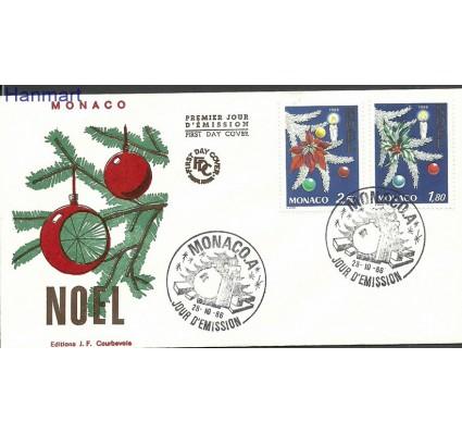 Znaczek Monako 1986 Mi 1779-1780 FDC