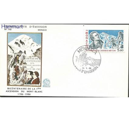 Znaczek Monako 1986 Mi 1781 FDC