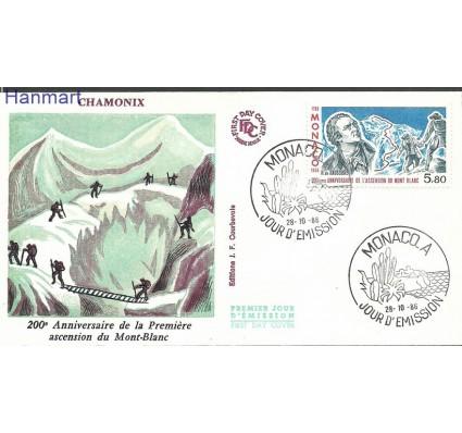 Znaczek Monako 1986 Mi 1781b FDC