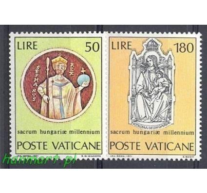 Znaczek Watykan 1971 Mi 594-595 Czyste **
