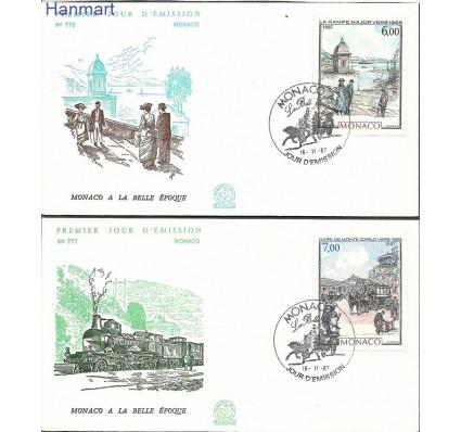 Znaczek Monako 1987 Mi 1841-1842 FDC