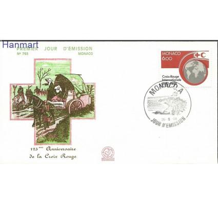 Znaczek Monako 1988 Mi 1870 FDC