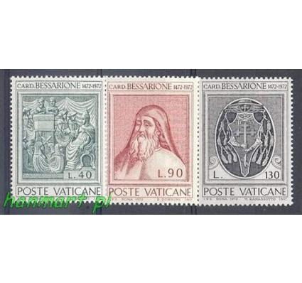 Znaczek Watykan 1972 Mi 610-612 Czyste **